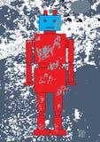 Robusteza roja ilustración del vector