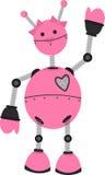 Robusteza rosada de la muchacha Imagen de archivo