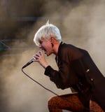 robyn歌唱家瑞典 免版税图库摄影
