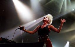 robyn歌唱家瑞典 图库摄影