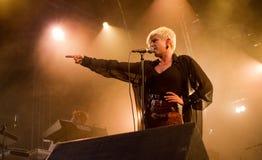 robyn歌唱家瑞典 免版税库存照片