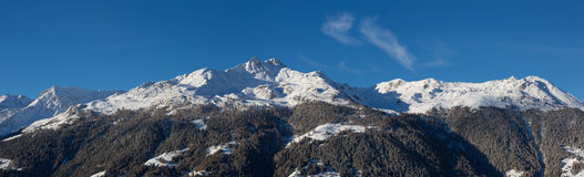 Roc d'Orzival panoramic Royalty Free Stock Images