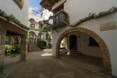 Roc de Sant Gaieta ett ställe som är Fotografering för Bildbyråer