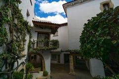 Roc de Sant Gaieta ett ställe som är Arkivbild