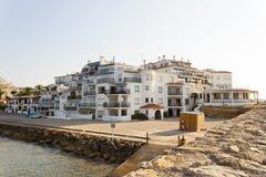 Roc de Sant Gaieta Roda de Bera, Tarragona, Spanien Fotografering för Bildbyråer