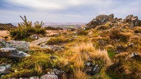 Roc`h Trevezel summit of Brittany royalty free stock photography