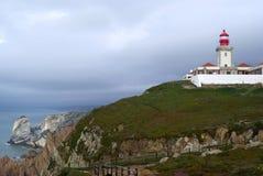 roca της Πορτογαλίας φάρων DA cabo Στοκ φωτογραφία με δικαίωμα ελεύθερης χρήσης