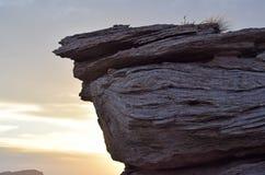 Roca acodada Imagen de archivo libre de regalías