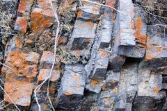 Roca aherrumbrada Fotografía de archivo libre de regalías