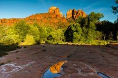 Roca Arizona de la catedral Imágenes de archivo libres de regalías