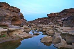 Roca asombrosa Foto de archivo libre de regalías