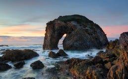 Roca Bermagui de la cabeza de caballo Foto de archivo libre de regalías