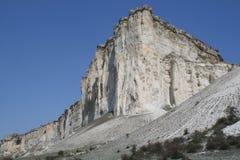 Roca blanca Fotos de archivo