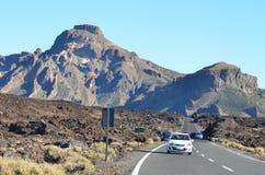Roca, cielo, Teide Fotos de archivo libres de regalías