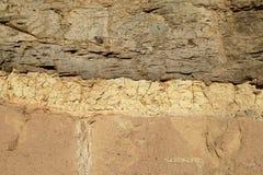 Roca coloreada tres Imagen de archivo