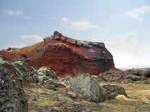 Roca colorida Imagen de archivo