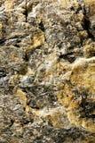 Roca con el mineral Fotografía de archivo