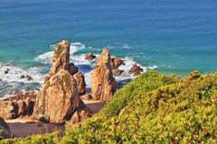 roca DA Πορτογαλία ακτών cabo Στοκ εικόνες με δικαίωμα ελεύθερης χρήσης