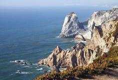 roca DA Πορτογαλία cabo Στοκ Εικόνες