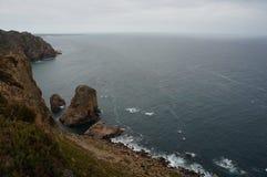 roca DA Πορτογαλία cabo Στοκ εικόνα με δικαίωμα ελεύθερης χρήσης