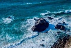 roca da Португалии cabo скалы над Атлантическим океаном, самый западный пункт европейского материка Стоковая Фотография RF