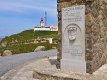 roca da Португалии cabo Стоковая Фотография RF