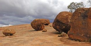 Roca de Australia Hyden Foto de archivo libre de regalías