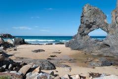 Roca de Australia, Narooma, NSW Fotografía de archivo
