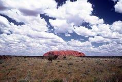 Roca de Ayers Fotos de archivo libres de regalías
