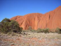 Roca de Ayers Fotografía de archivo libre de regalías