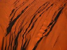 Roca de Ayers - Uluru Fotos de archivo