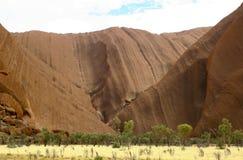 Roca de Ayers/Uluru, Australia Fotos de archivo libres de regalías