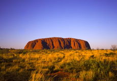 Roca de Ayres, Uluru Imagen de archivo libre de regalías