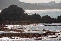Roca de Biarritz Fotos de archivo