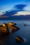 Roca de Biarritz Foto de archivo