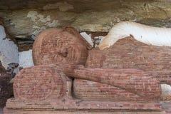 Roca de Buda Pidurangula, Sri Lanka Imagen de archivo libre de regalías
