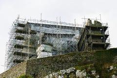 Roca de Cashel bajo renovación Imagen de archivo libre de regalías