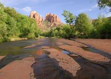 Roca de Cathredral Fotografía de archivo