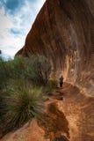 Roca de Elachbutting, Australia occidental fotografía de archivo