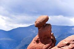 Roca de equilibrio Imagen de archivo