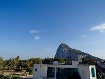 Roca de Gibraltar Imagen de archivo libre de regalías