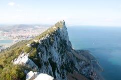 Roca de Gibraltar Imagenes de archivo