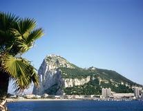 Roca de Gibraltar Fotografía de archivo