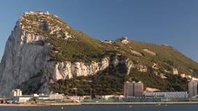 Roca de Gibraltar almacen de metraje de vídeo
