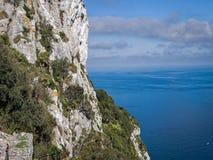 Roca de Gibraltar Foto de archivo libre de regalías