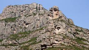 Roca de la alta montaña Imagen de archivo libre de regalías