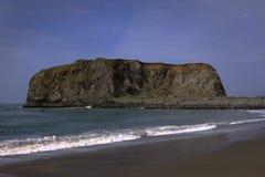 Roca de la cabra Imagen de archivo libre de regalías