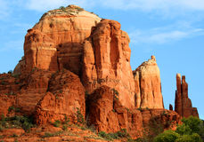 Roca de la catedral Fotografía de archivo libre de regalías