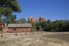 Roca de la catedral, Sedona Arizona Fotos de archivo libres de regalías