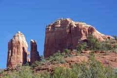 Roca de la catedral, Sedona Arizona Fotos de archivo